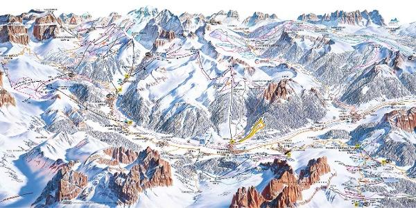 Val di Fassa/Carezza • Skigebiet » outdooractive.com