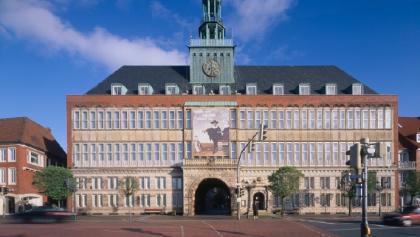 Das Landesmuseum im Rathaus am Delft