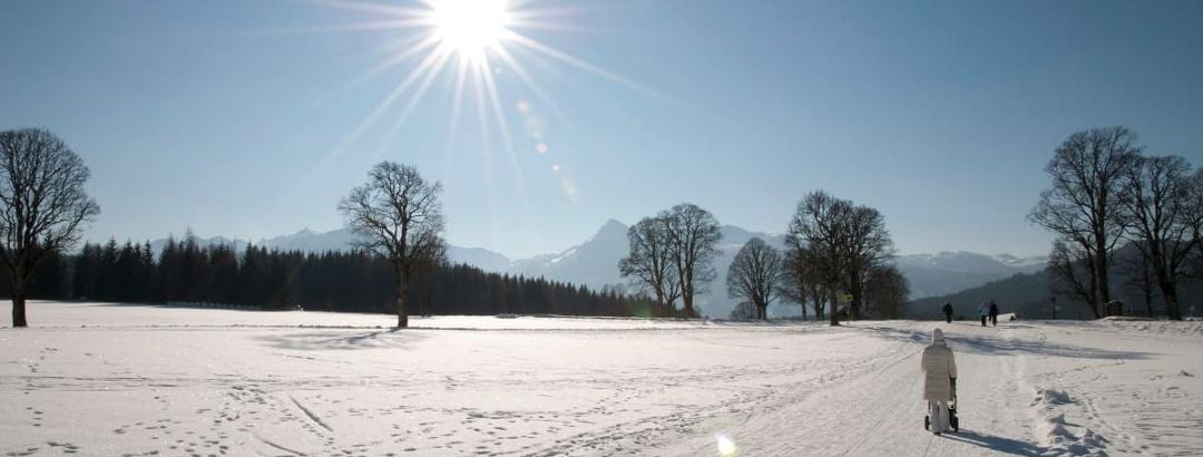 Winterwandern in Ramsau