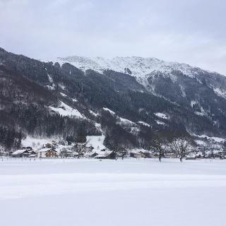 Winterwandern taleinwärts
