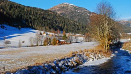 Der Gruber Hirnkogel von Pusterwald aus gesehen