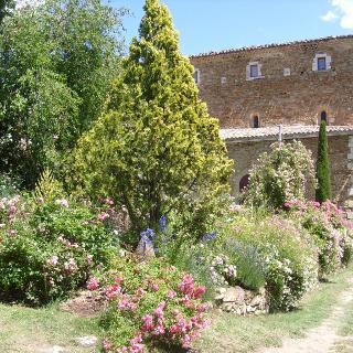 Jardin de l'Abbey de Valsaintes - ©Ferienhaus La Rostane