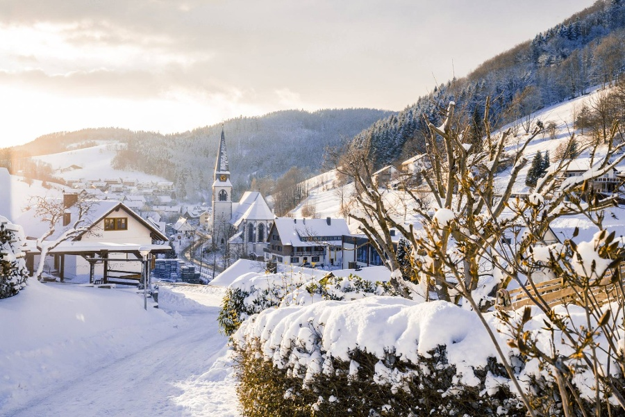Bad Peterstal-Griesbach/Winterwandertour rund um Bad Griesbach