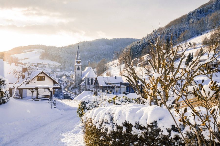 Bad Griesbach im Winterkleid