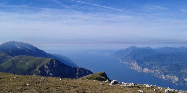 Ausblick über den Gardasee
