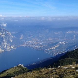 Garda Trentino from Monte Altissimo