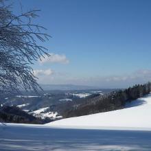 Blick in Richtung Kaiserstuhl