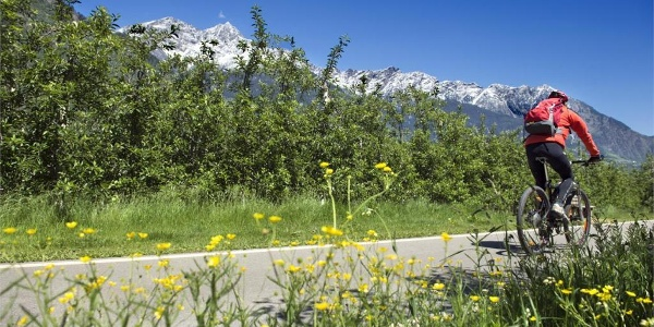 Cycling through Val Venosta Via Claudia Augusta - stage Rabland/Rablà-Reschen/Resia