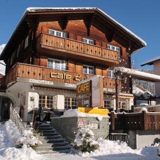 Cafe Dulezi im Winter