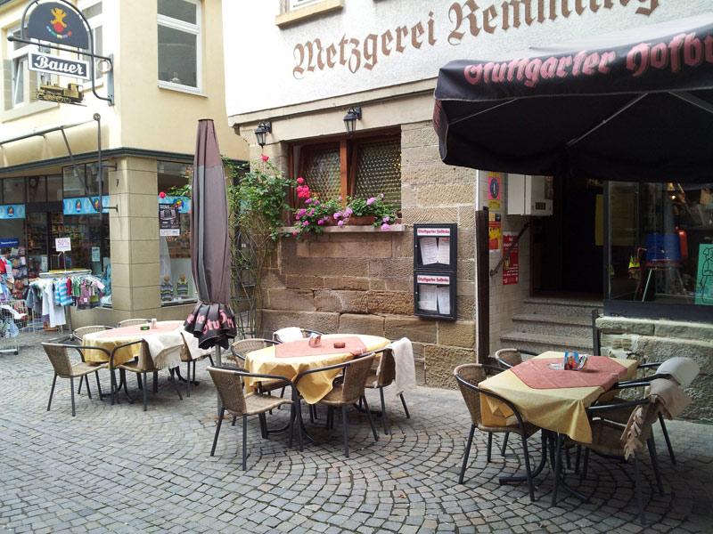 Gaststätte Remmlinger  - @ Autor: Beate Philipp  - © Quelle: Metzgerei Remmlinger