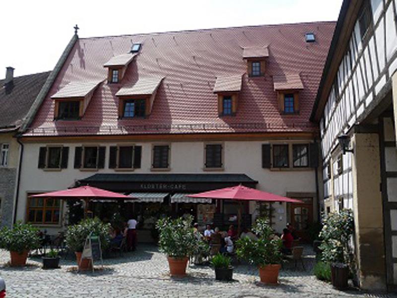Klostercafé  - @ Autor: Beate Philipp  - © Quelle: Familie Hofmann
