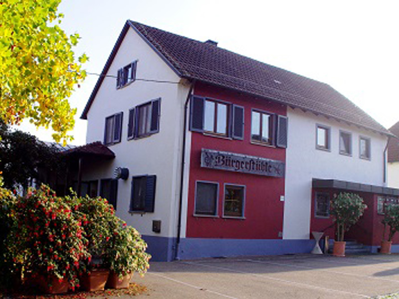 Gasthaus Bürgerstüble Zum Flad  - @ Autor: Beate Philipp  - © Quelle: Bürgerstüble