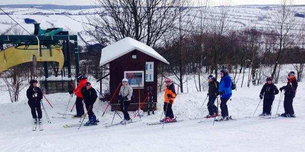 Skilift 'Auf der Kreherwiese' - Talstation