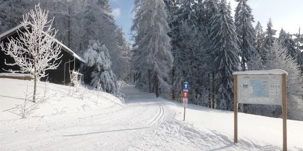 Startpunkt Diensthütte Grandsberg