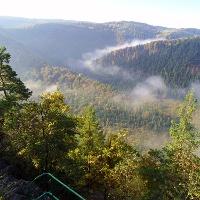 Blick vom Griesbachfelen ins Schwarzatal