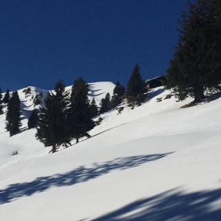 Der letzte Anstieg zum Steineberg
