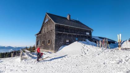 Reisalpenschutzhaus des ÖTK, ideales Tourenziel im Winter und Sommer