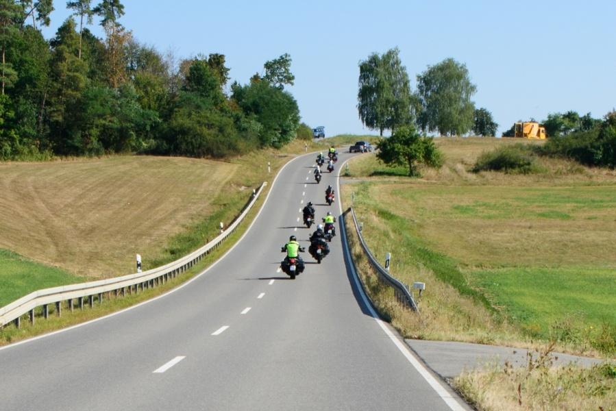 Motorradtour 1 - Über die Schwarzwaldhochstraße ins Badische