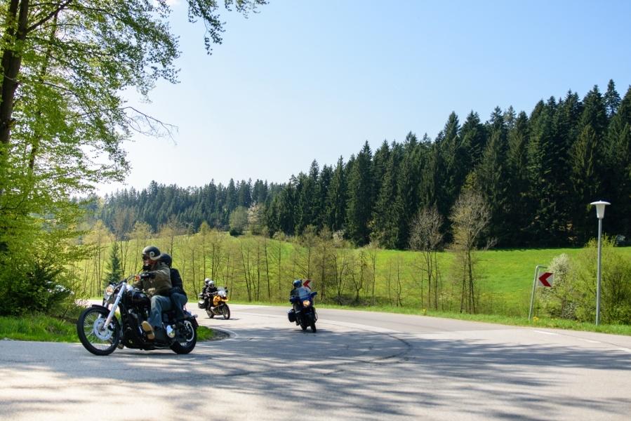 Motorradtour 5 - Murgtal und Nagoldtal - Zwei Täler Tour