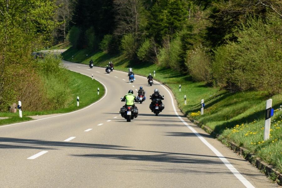 Motorradtour 6 - Doppelte Runde durch den mittleren Schwarzwald