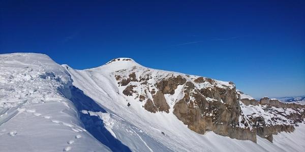 Looking towards the Summit from Banalppass