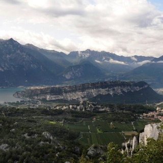 View over Monte Brione from Segrom