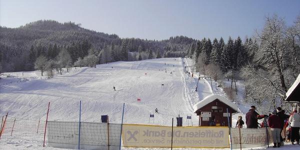 Das Skigebiet Riesenlehen