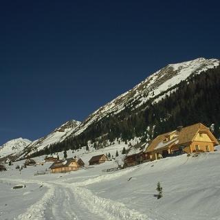 Hüttendorf im Rantental