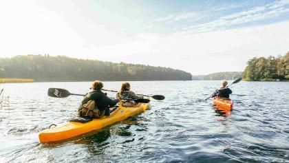Die Mecklenburgische Seenplatte lässt keine Wünsche offen für Wassersportler