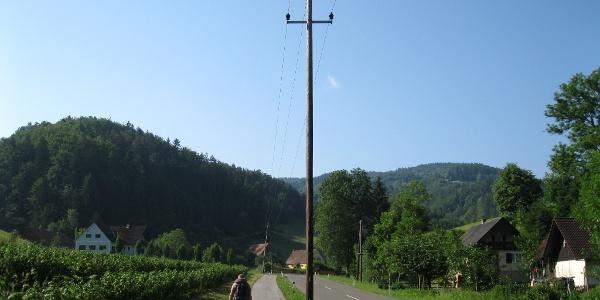 Von Leutschach/Schlossberg folgen wir der Straße Richtung Süden