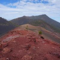 Der Kraterrand des Volcán de San Martin
