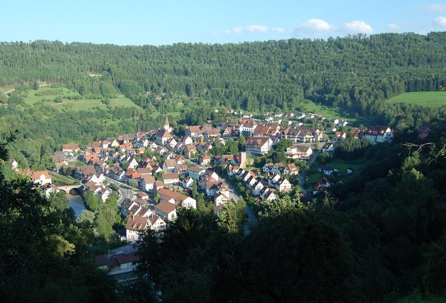 Aussichts-Tour durch das Heckengäu mit Ausblick auf den Schwarzwald