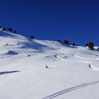 Aufstieg Nähe Hubertsspitze