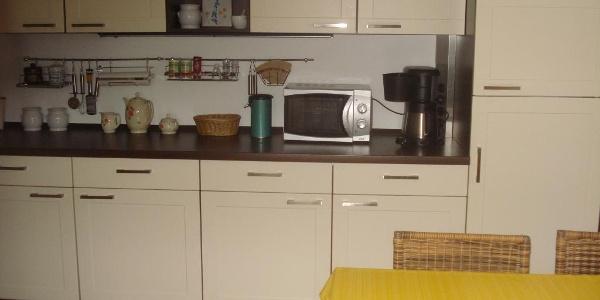 Fewo Jubelt Küche mit Essplatz
