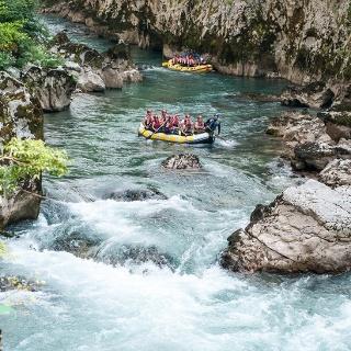 Rafting Neretvom