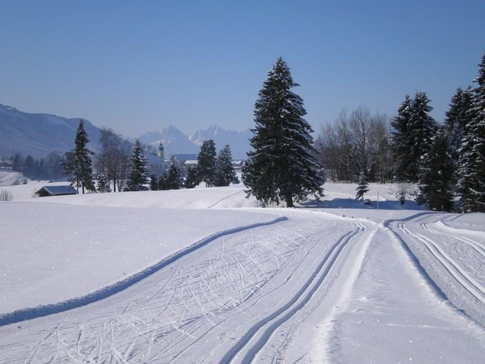 Langlaufloipe Mühlfeld Rottenbuch ()