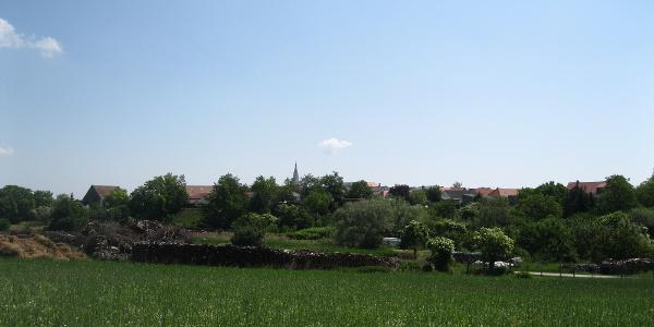 Blick zurück auf St. Margarathen.