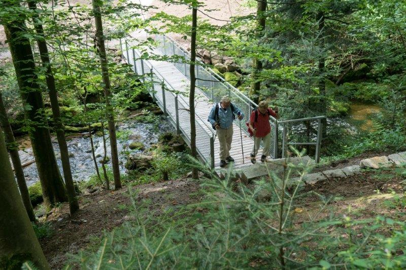 Gertelbach-Rundweg mit neuem Zugangsweg
