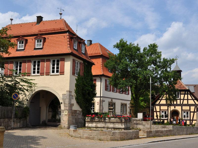 Mainhardter Schlössle mit Römermuseum  - @ Autor: Beate Philipp  - © Quelle: Gemeinde Mainhardt