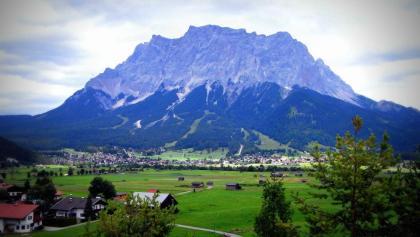 Zugspitze von Lermoos (6. Aug. 2012)