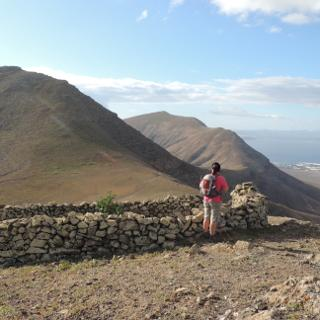 Blick zum Pico Redondo