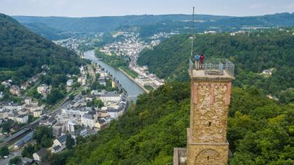 Panoramablick vom Concordiaturm