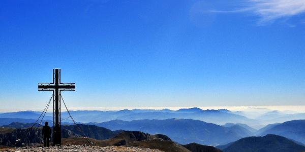 Hochschwabgipfel, höchster Punkt der BergZeitReise