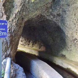 Tunnel Nr.11 - kurz vor der Marcos-Quelle