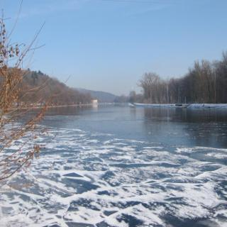 Donau im Winter - es kann kalt sein