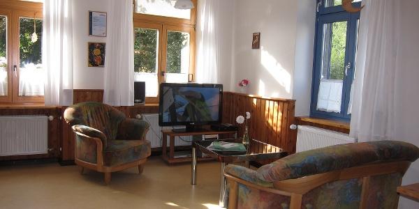 Wohnung Calendula mit Fernseher