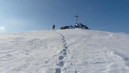 Schneeschuhwandern auf der Hirschegger Alm