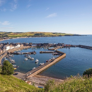 Der Hafen von Stonehaven
