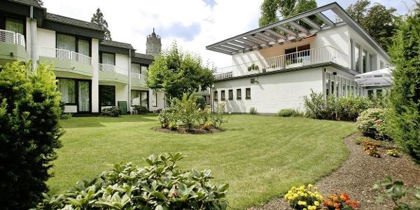 Villa am Rhein Außenansicht