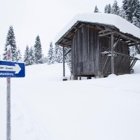 Winterwanderweg Hörnlepass